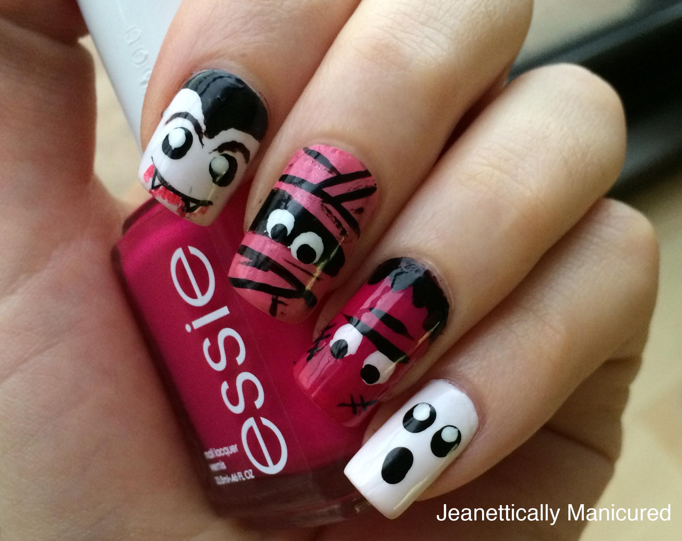 40 Great Nail Art Ideas--Halloween