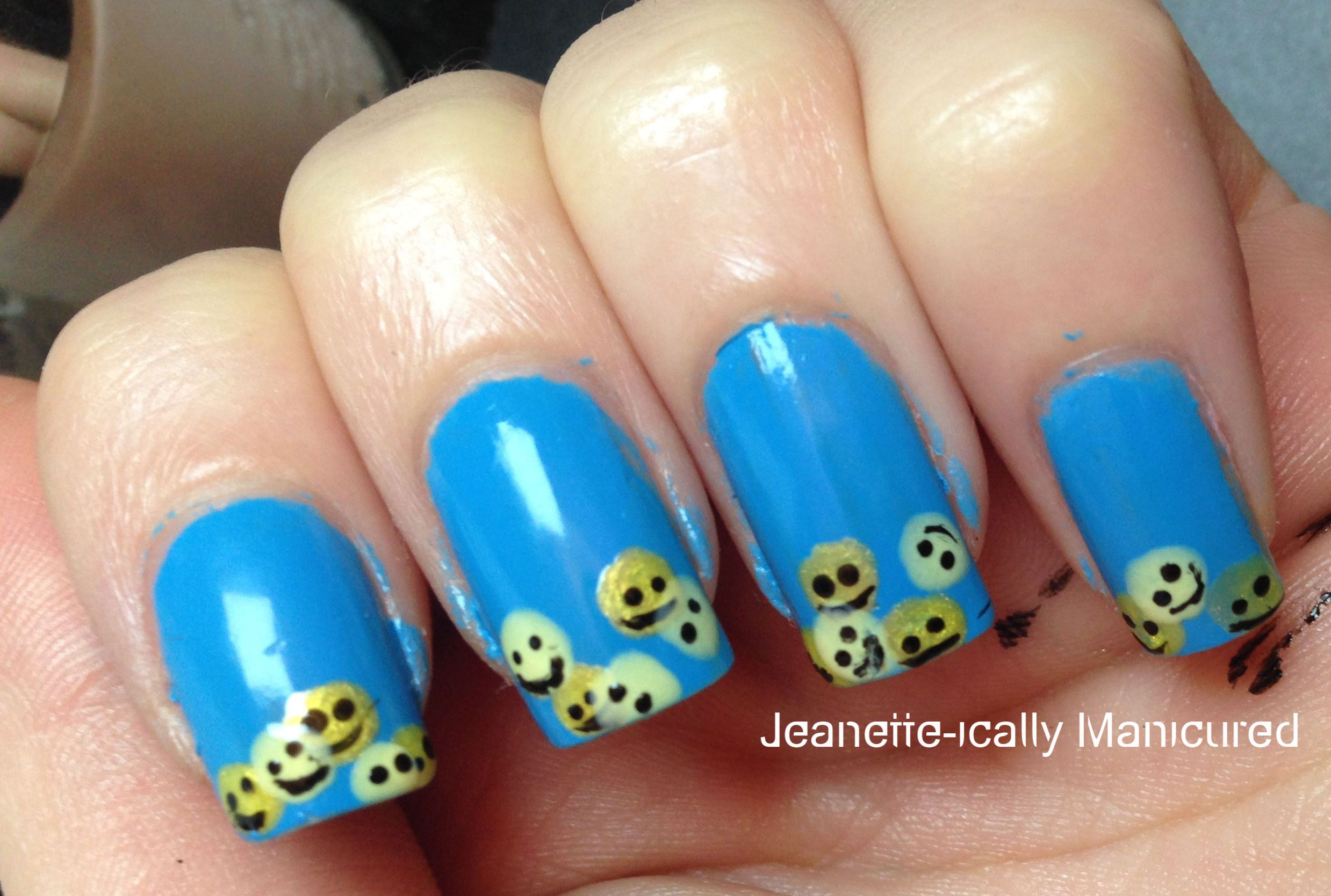 Smiley-nails